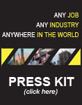 Any Job - Any Industry - Anywhere in the world - Click here for Press Kit